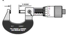 نرم افزار آموزش میکرومتر 0.1 اینچی با دقت 0.0001